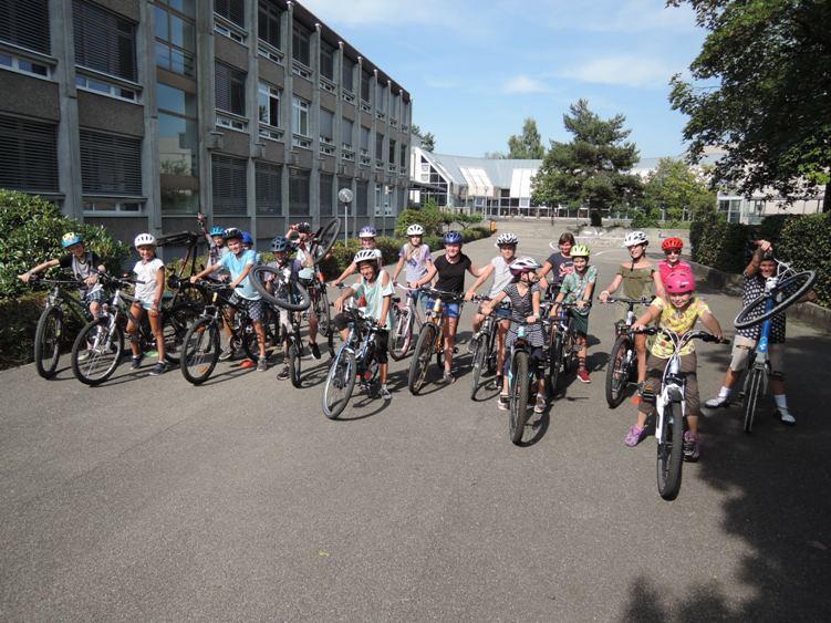 Projektwoche Fahrrad in der Schule Jegenstorf - Bikeschule ...