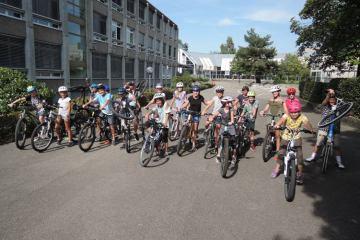 Projektwoche Fahrrad in der Schule Jegenstorf