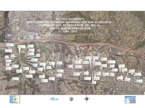 Montezuma Road Bicycle Facility Assessment Presentation to CACPB on 11-14-2012