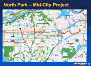 Preliminary Corridors Identified by SANDAG Active Transportation Planners