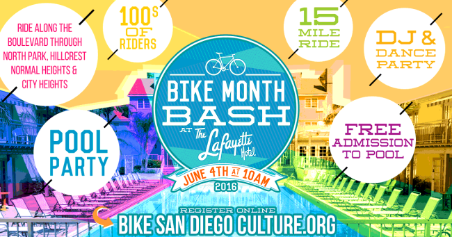 Bike San Diego Bike Month Bash 2016