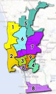 Council district map