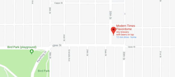 map of Flavordome location