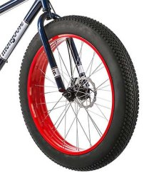Mongoose Fat Bike Strong Tires