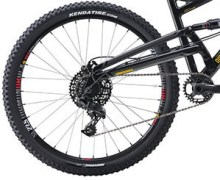 DB Bicycles Atroz Full Suspension Bike Gearing
