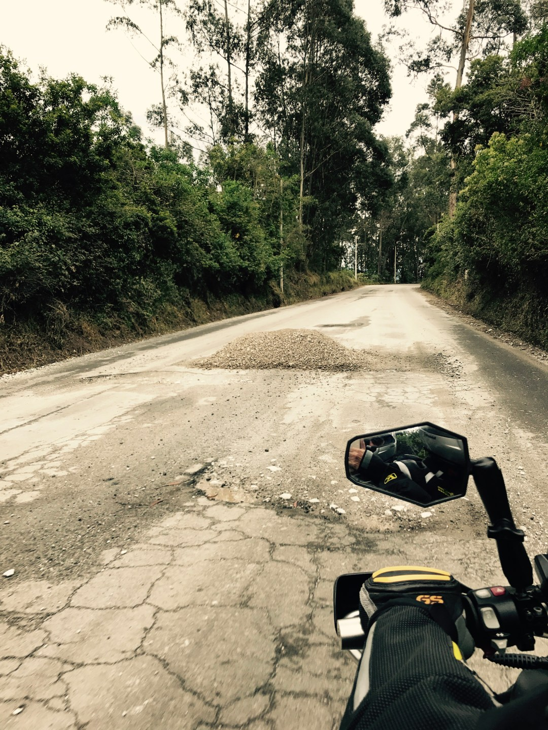 Ecuador road conditions
