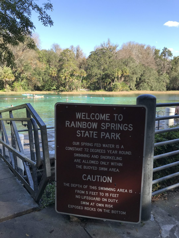 Rainbow Springs State Park, Fl