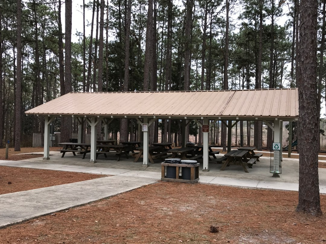 Picnic Areas at Falling Waters State Park