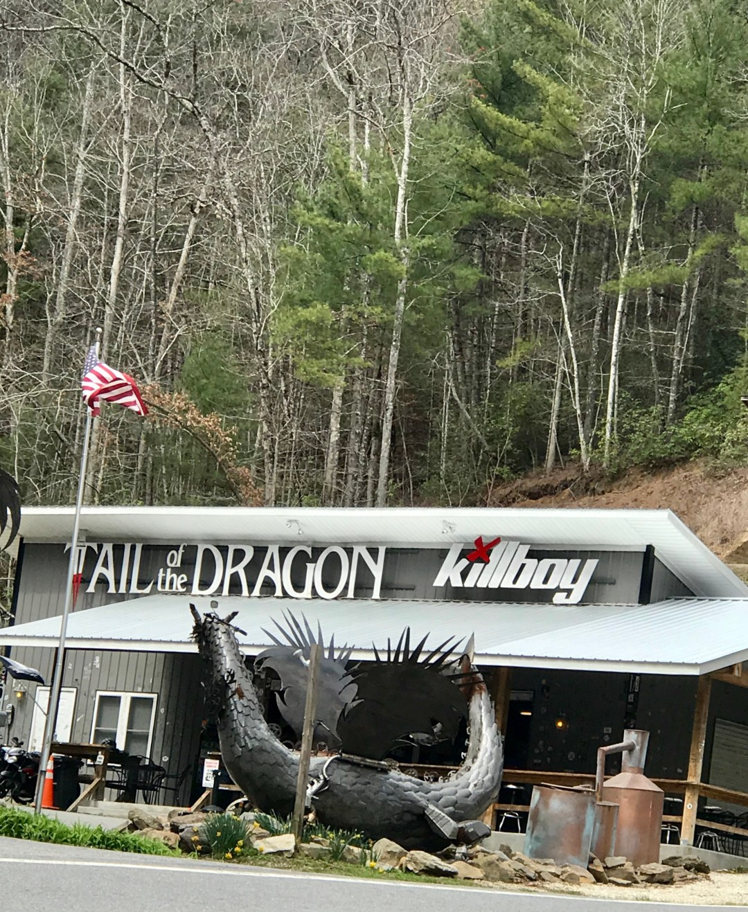 The tail of the dragon