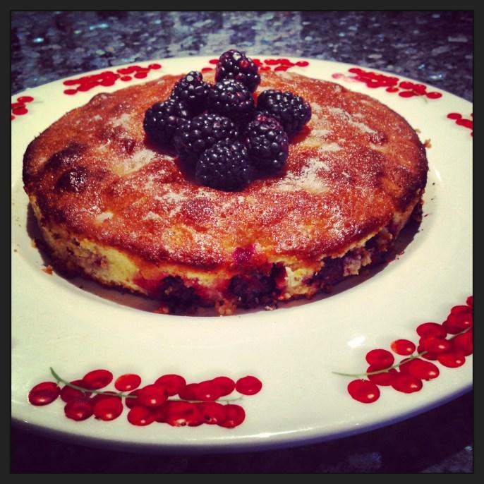 Blackberry and Lemon Crunch Cake 3