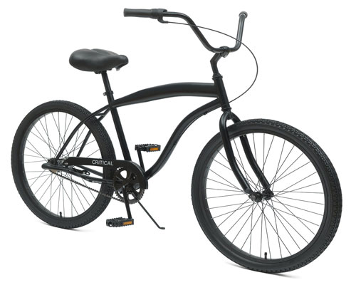 Critical Cycles Men's Beach Cruiser 3-Speed Bike