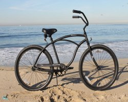 Firmstrong Urban Man Alloy Single Speed Beach Cruiser Bicycle, 26-Inch