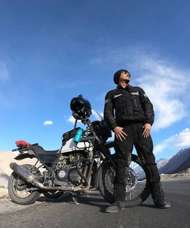Starts and ends in Leh