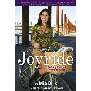 Cover image of the book Joyride: Pedaling Toward A Healthier Planet by Mia Birk. Available from Amazon: http://t.co/C5vUprc