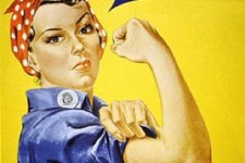 Rosie the Riveter. You Can Do It!