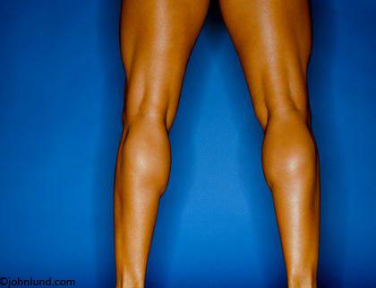Women Muscular Legs