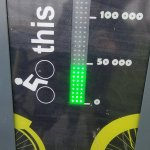 Beating the Bus, and Other Bicycling Benefits