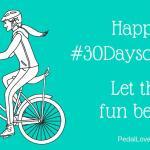 #30DaysOfBiking, Day 2: My Version of a Triathlon