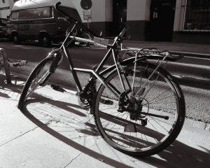 Rower nieczynny, nic się nie dzieje