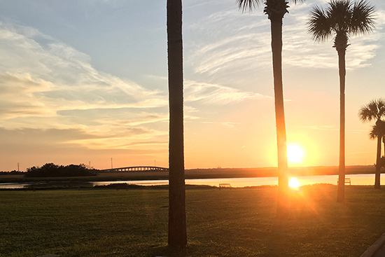 Sunset-Epworth By The Sea -St Simons Island Causeway Bridge