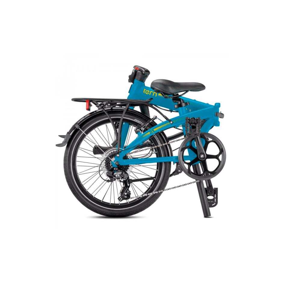 Bicicleta plegable Tern C8 plegada
