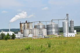 Ethanol plant in Wisconsin
