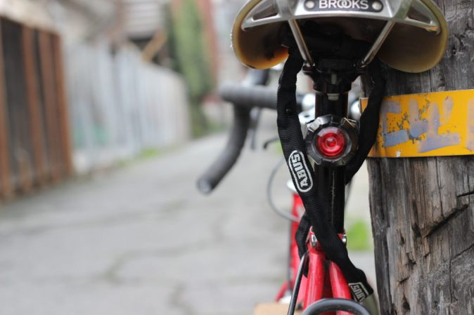 Bike seat lock to keep your seatpost and saddle secure.
