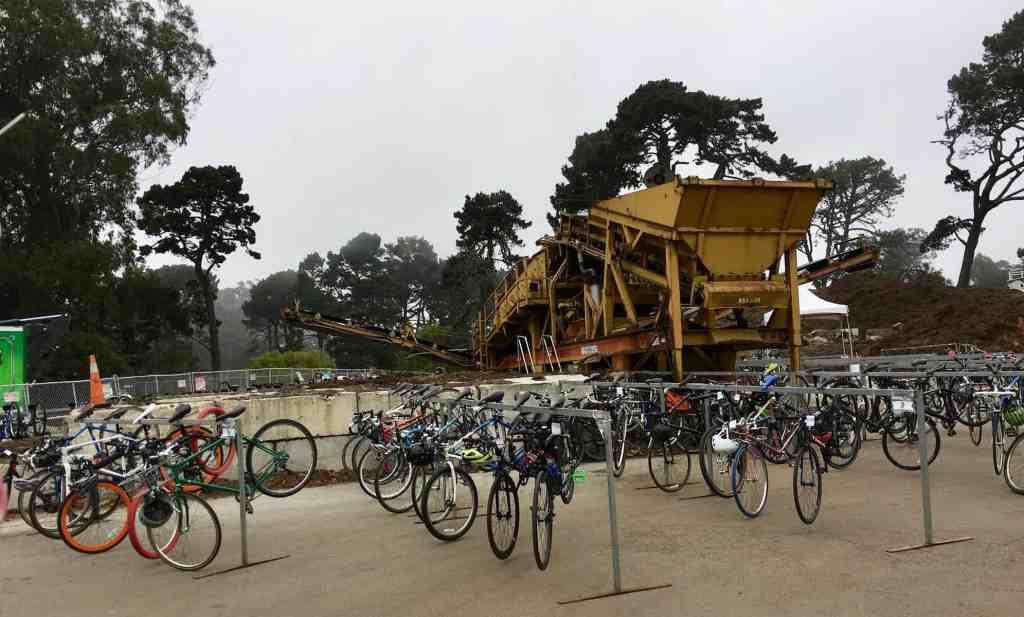 Golden gate park bike valet