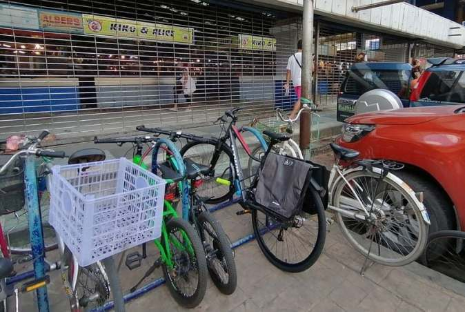 bike parking in manila