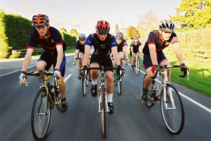 Cycling for fun and health