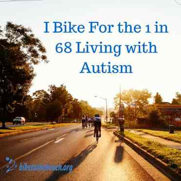 I Bike for the 1 in 68