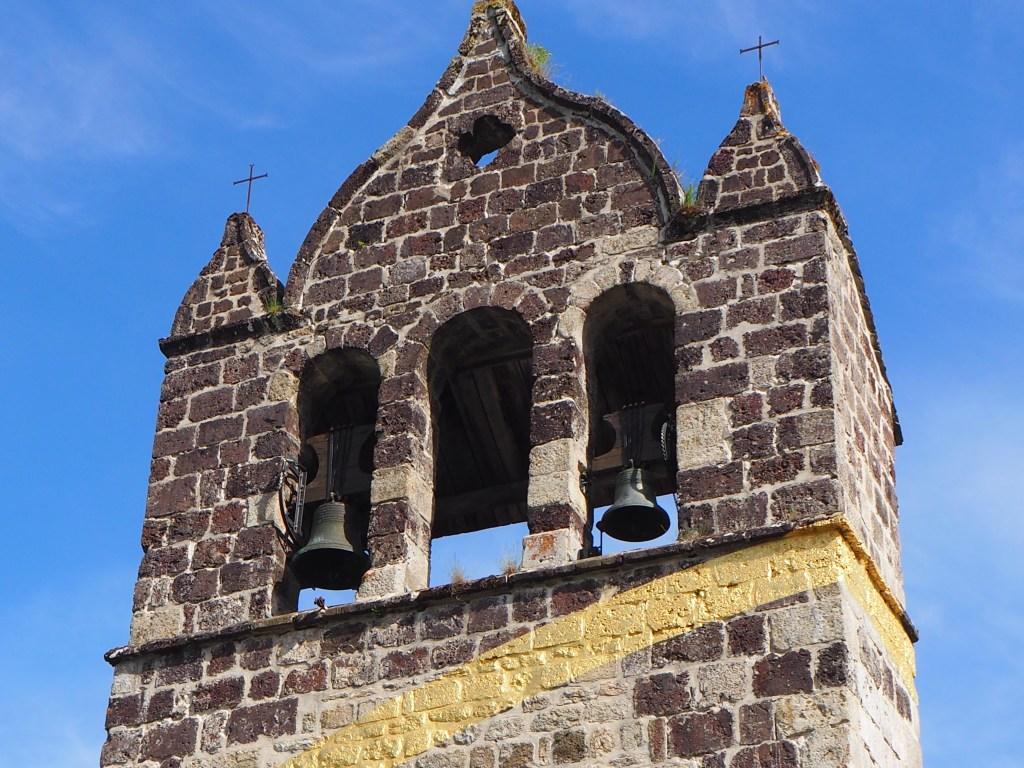 Clocher de l'abbaye de Mazan