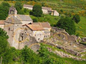 l'Abbaye de Mazan en Ardèche