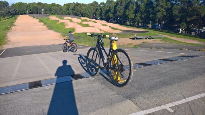 BMX at the Sydney Olympic Park