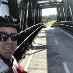 Darren on the Memorial Drive Bridge