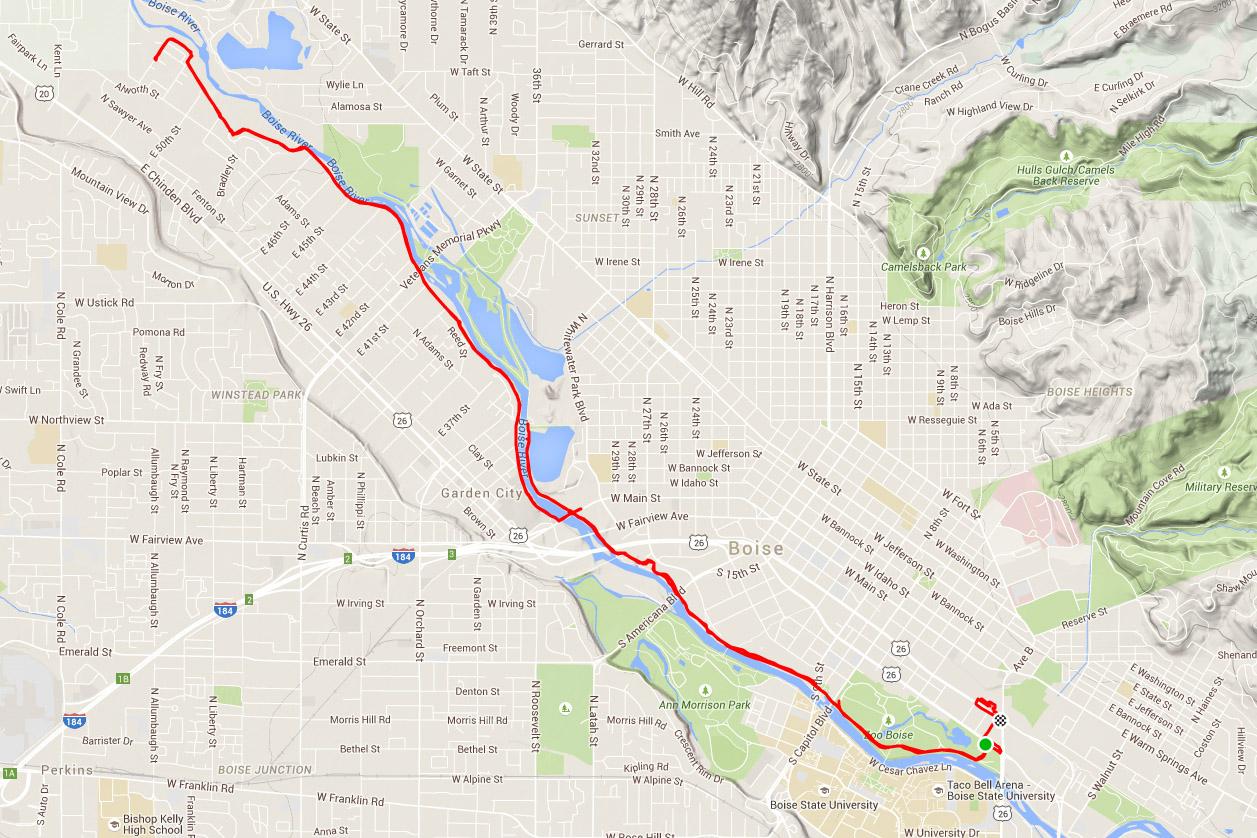 Boise Greenbelt Ride - Bike Und Bier