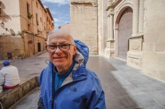 Dad in Logroño