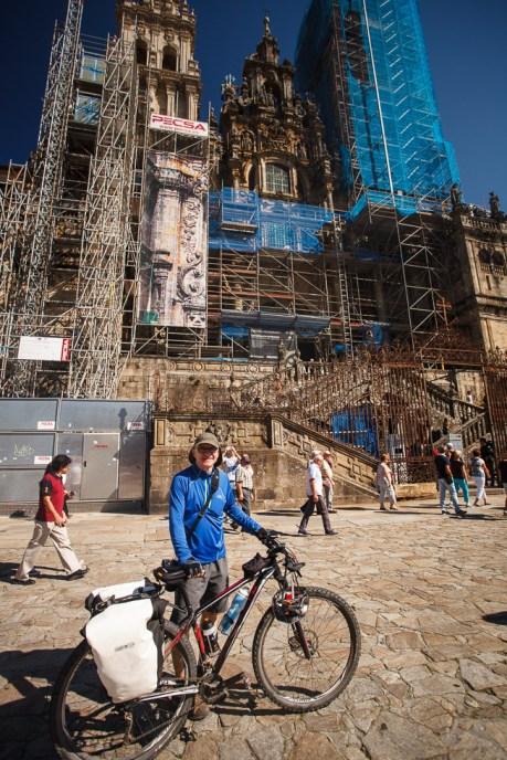 Obradoiro Square in Santiago
