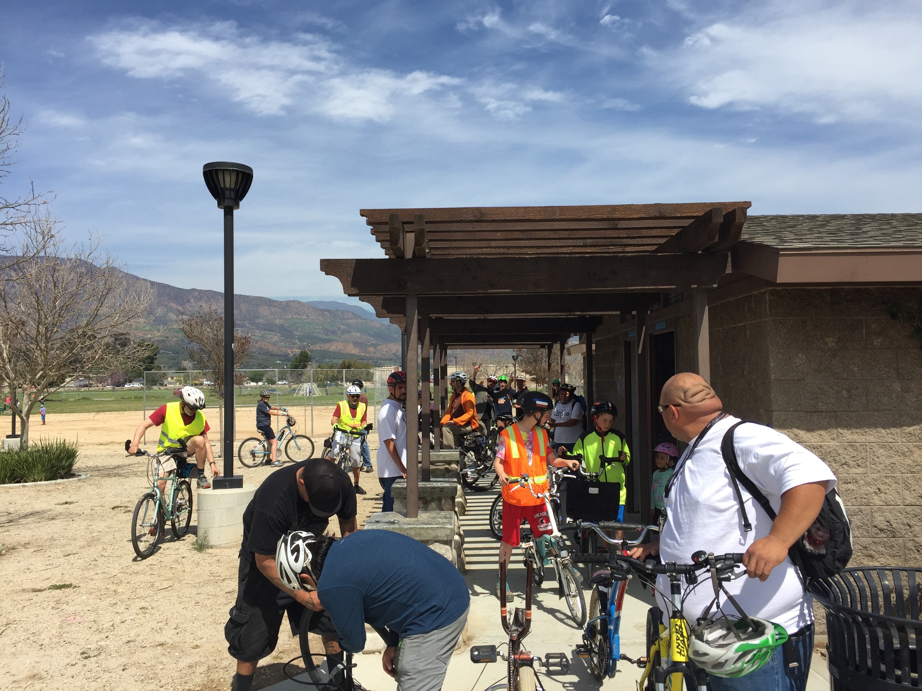 Over 30 riders participated!