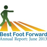 Best Foot Forward 2013 Annual Report - Yield for pedestrian safety
