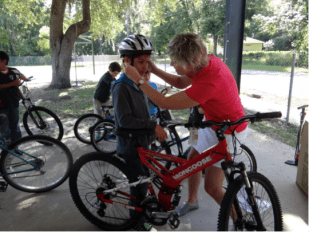 Elementary Students Benefit From Recycled Bikes