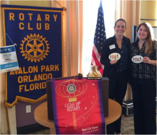 Best Foot Forward Presents to the Rotary Club of Avalon Park
