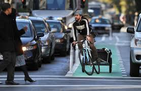 The Washington Post: Don't Make Bicyclists More Visible.