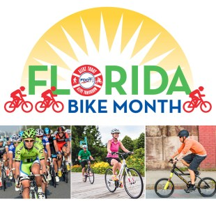 It's Florida Bike Month – 5 fun ways to celebrate