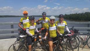 Halfway there – Maine to Florida bike ride group perseveres through ups and downs