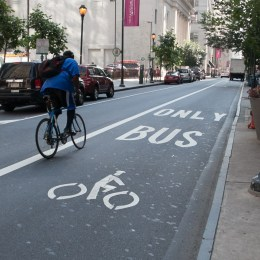 Should bus lanes be shared with people biking in Orlando?