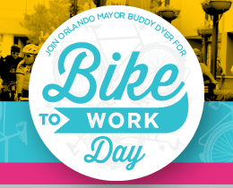 Join Mayor Buddy Dyer for 'Bike to Work Day'