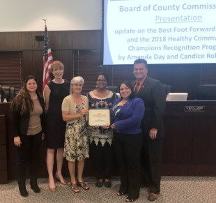 Osceola County recognized as a champion for healthier communities