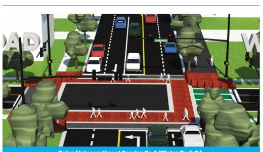 Renderings and graphics from MetroPlan Orlando's Corrine Drive Complete Streets Study