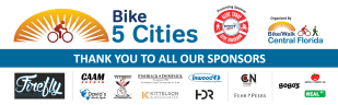 Bike 5 Cities SOLD OUT on Sat, Oct. 3